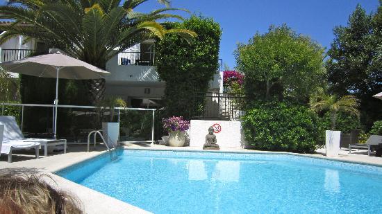 La Villa Cap d'Antibes : pool området