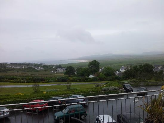 Ballyliffin Lodge & Spa Hotel: View from room