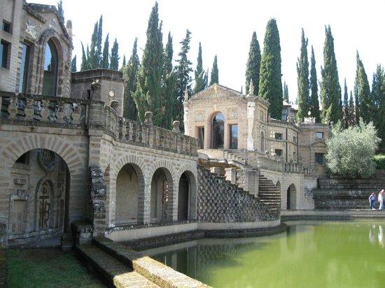 Montegabbione, Italien: interno della scarzuola