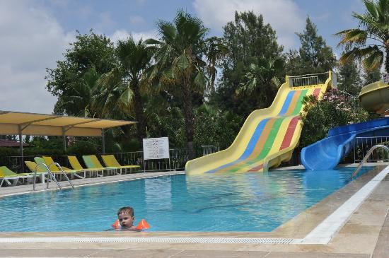 Club Sidelya Hotel: Kinderpool mit Wasserrutschen