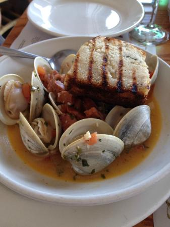 Catch of the Day Seafood Market & Grill : Clams Barcelona - half size order, so yummy.