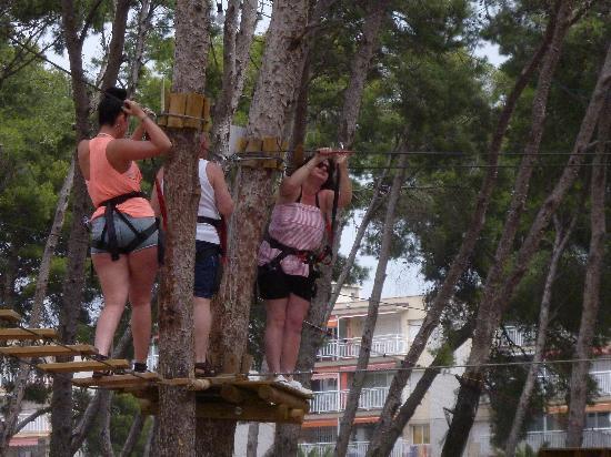 Bosc Aventura Salou: High Wires