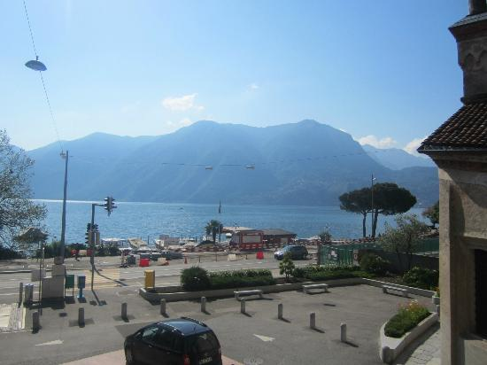 Hotel International au Lac: View from the hotel's bar