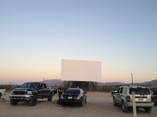 Twentynine Palms, CA: before the movie starts