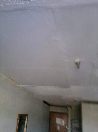 Shadeland Inn: An unfinished ceiling repair