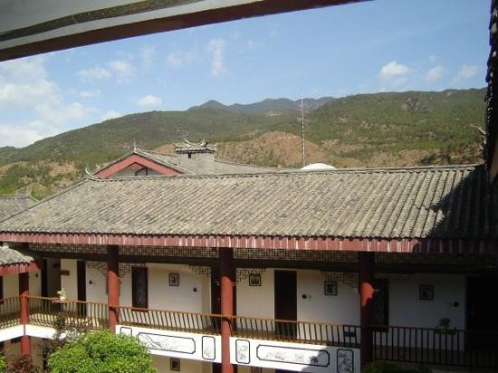 Conifer Lishui Yang'guang Hotel: view from one of the rooms