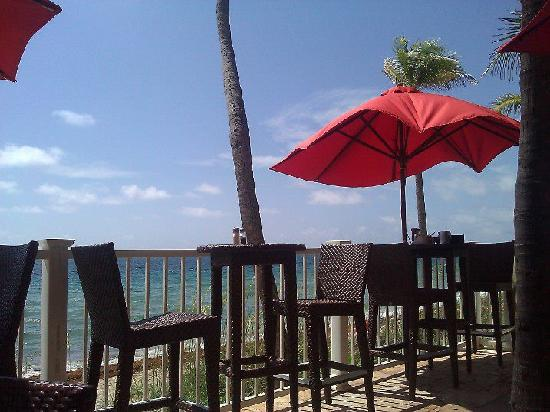 Sandbar Grille: view from our table