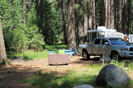 Lower Pines Campground: Site 71 in Lower Pines