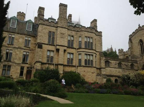 The Old Palace: More of the Hotel from rear garden