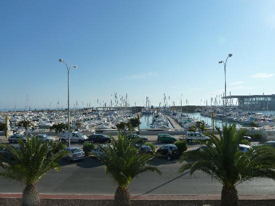 Hotel El Raset: Vistas del puerto