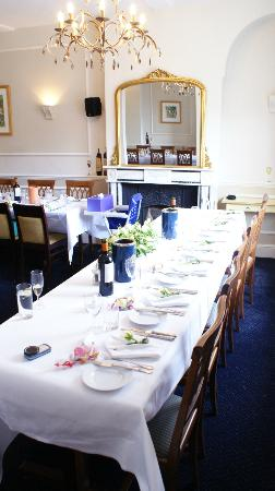Berties Restaurant & Bar: Table layout for reception