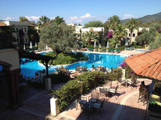 Hotel Zeytinada: the wonderful garden