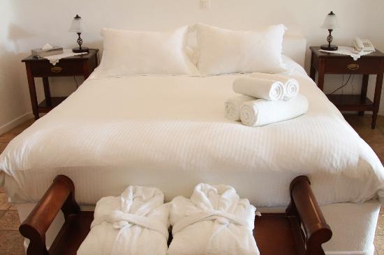 بانتيليا سويتس: Really comfortable bed. I'm really picky with my beds, and I slept great!