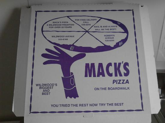 Mack's Pizza: Need it say more?