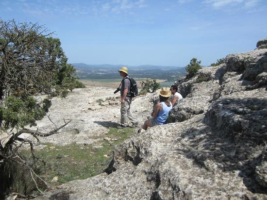 The Spanish Thyme Traveller Day Tours: Walking on Goat Mountain.