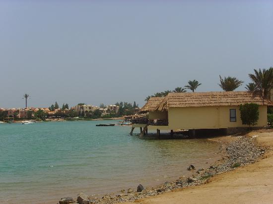 Panorama Bungalows Resort El Gouna: View of Panorama Bungalows from main road