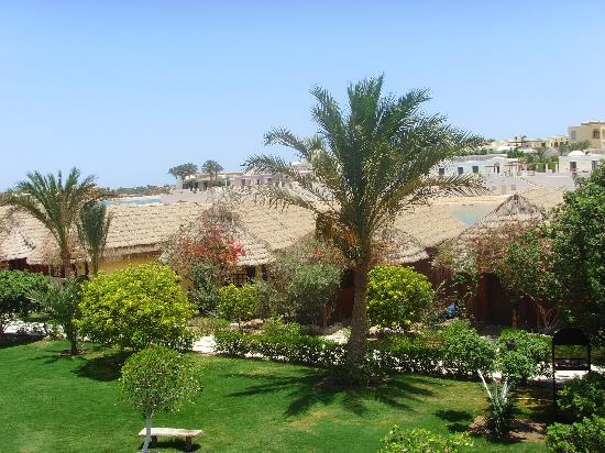 Panorama Bungalows Resort El Gouna: View from our balcony