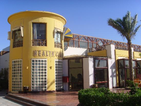 Panorama Bungalows Resort El Gouna: Health centre beside the restaurant