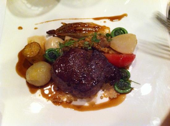 Chef's Table at Kensington Riverside Inn : AAA Beef Tenderloin