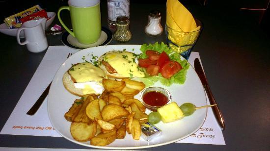 The Diner: Uova in camicia Benedict