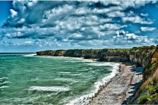 D Day Landing Tours: View from Pointe du Hoc