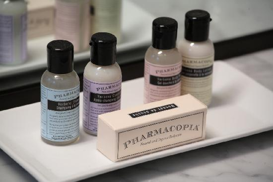‪‪Hotel Cape Charles‬: Pharmocopia amenities‬