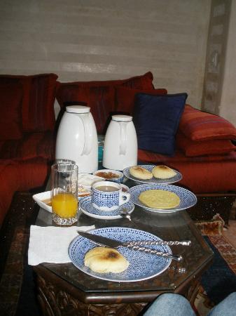 Dar Alhambra : Breakfast