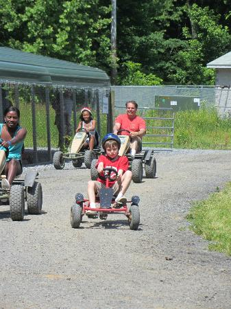 Yogi Bear's Jellystone Park Camp-Resort  Hagerstown: Cindy 500 pedal carts