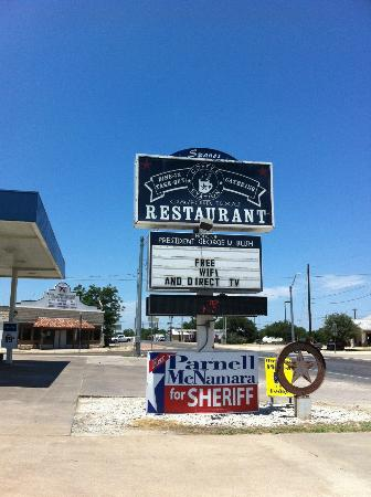 Coffee Station Restaurant in Crawford, TX