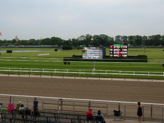 Secretariat Statue Picture Of Belmont Park Race Track
