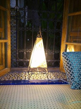 Riad Laayoun: Dining place