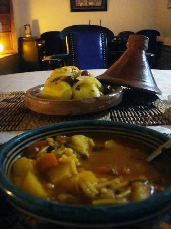 Riad Laayoun: Dinner