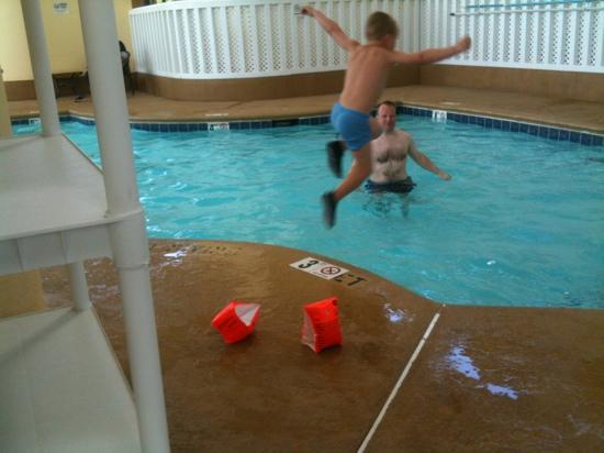 Greensboro East Motel: pool