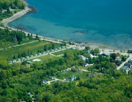 The Colony on Frenchman's Bay: The Colony from the air