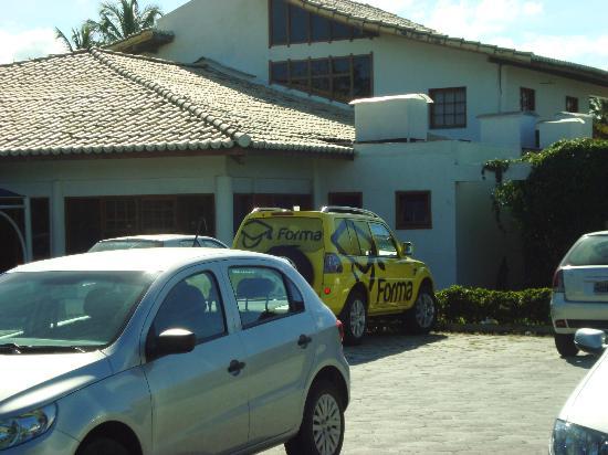 Tropical Oceano Praia: fachada do hotel