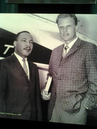 The Billy Graham Library: Two great reverends