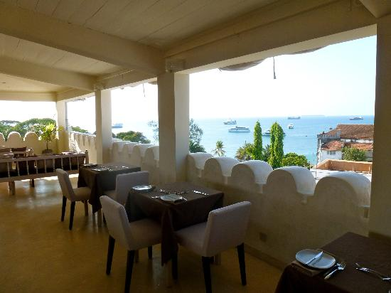 Mashariki Palace Hotel: View from the restaurant