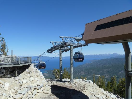 South Lake Tahoe, Kalifornien: Gondola Stop at Observation Deck