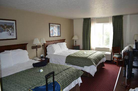 Yellowstone Park Hotel: Guest room 202
