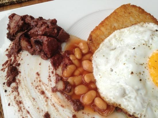 Elements Boutique Resort & Spa Hideaway: Blackpudding for Breakfast?