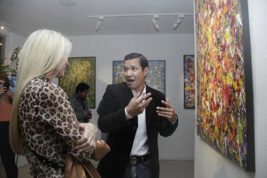 Steven Lucas Fine Arts: Artist CERVANTES at Steven Lucas