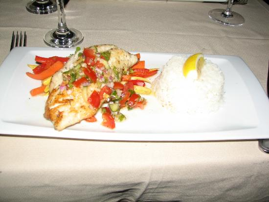 Ocean Club Resort: Fish I ordered from the Opus