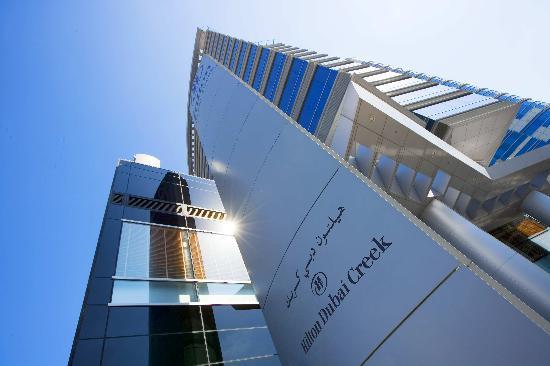 Hilton Dubai Creek Exterior