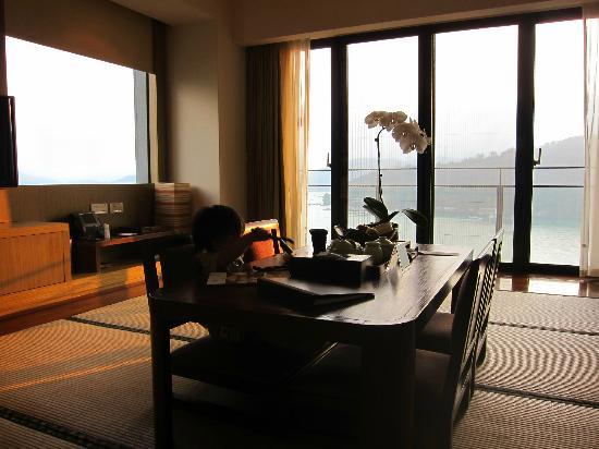 Fleur de Chine Hotel Sun Moon Lake: Room with tatami.