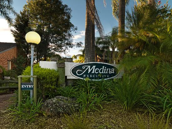‪‪Medina Serviced Apartments North Ryde‬: Main Entrance‬