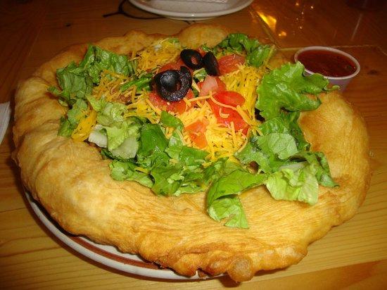 Custer Batttlefield Trading Post: Indian Taco