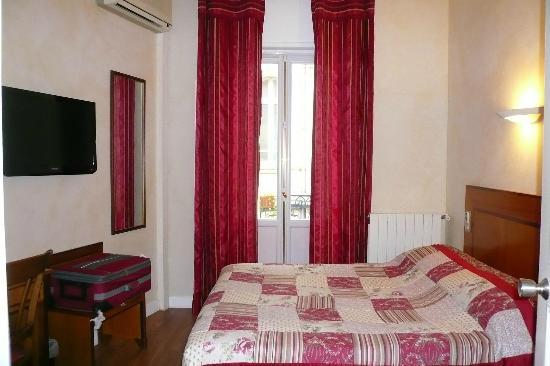 Hotel Albert 1er: chambre 210