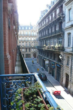 Hotel Albert 1er: la vue de ma chambre