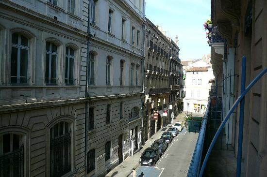 Hotel Albert 1er: vue de mon balcon