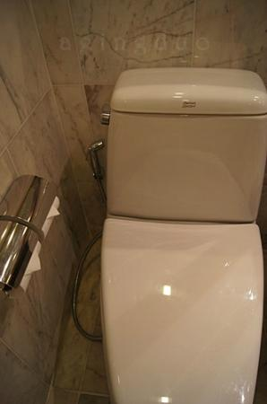 toilet with health faucet ^^ - Picture of JW Marriott Hotel Bangkok ...